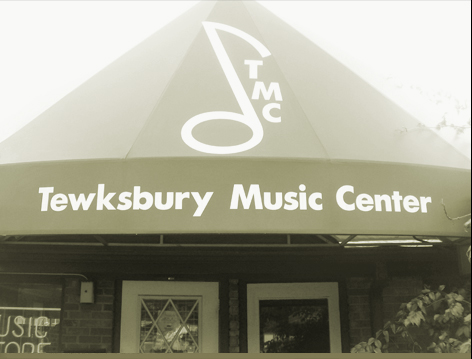 Tewksbury Music Center, Store Front